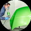 Покраска и ремонт капота автомобиля